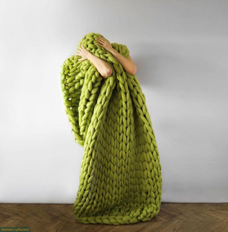 Очень толстая нитка для вязания 118