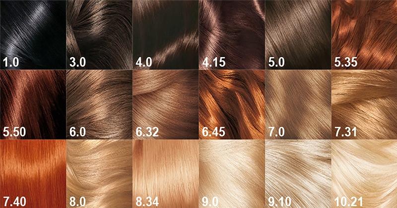 Краска для волос 5 букв