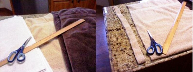 Как сшивать коврики из старых вещей своими руками пошагово