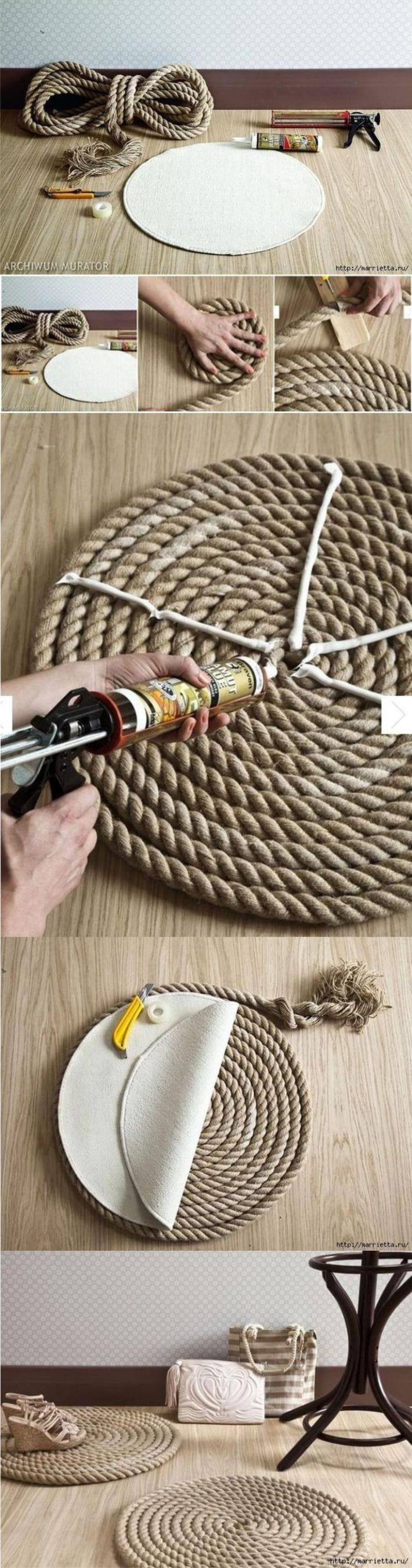 Изделия из веревки своими руками