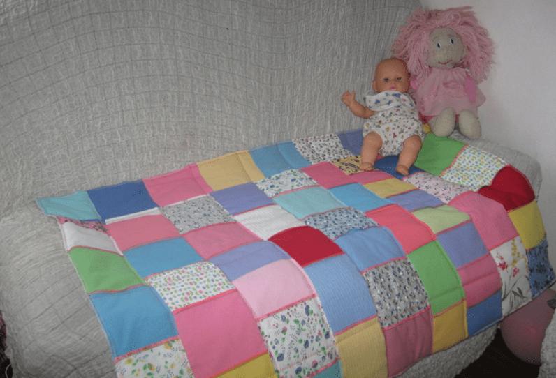 Как сделать легкое одеяло 585