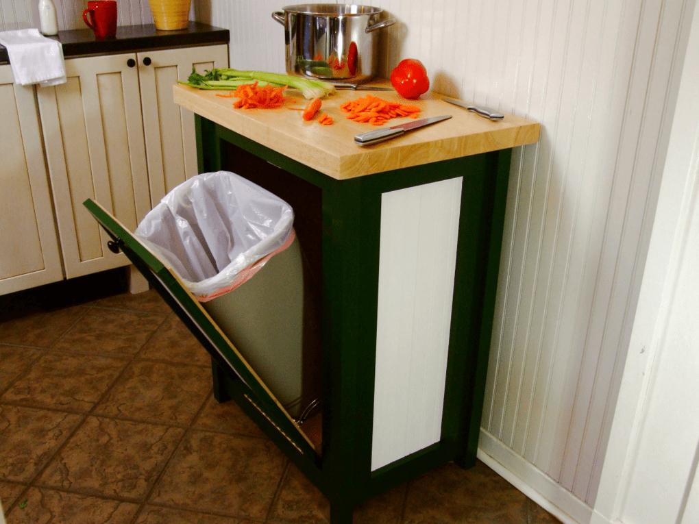 Мусорное ведро на кухню своими руками