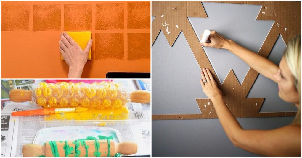 Эффекты для декора стен