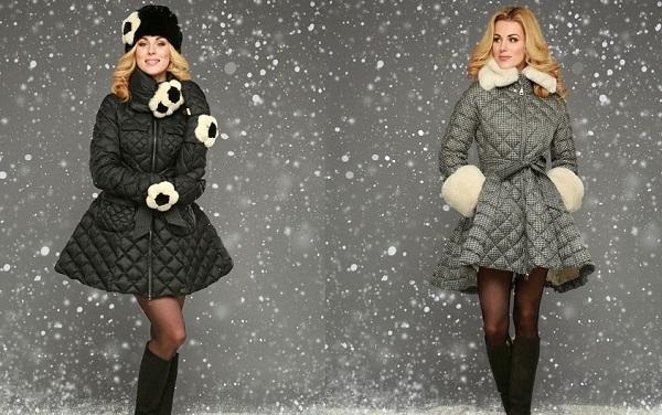 стильные зимние пальто