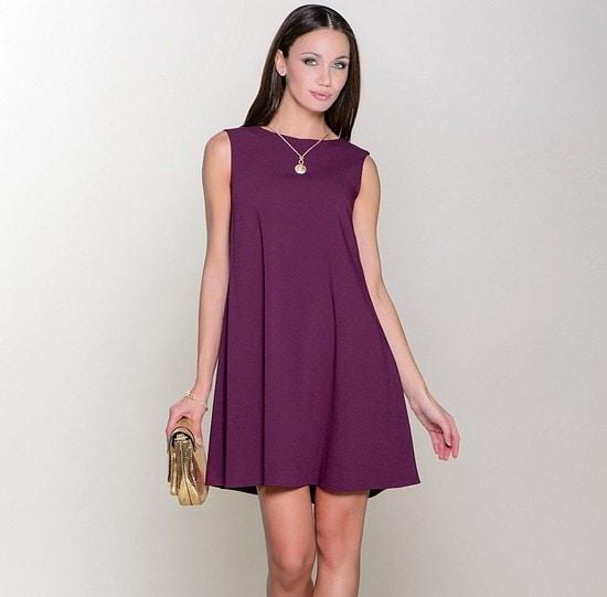 1690b39527d Платье-трапеция идеально для женского гардероба  выкройки и ...