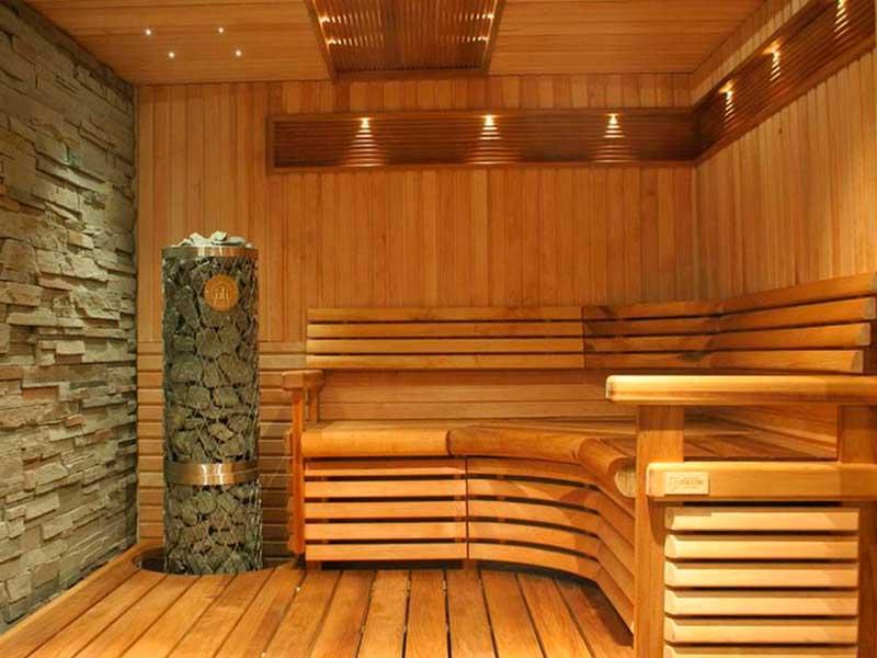 Внешняя отделка бани