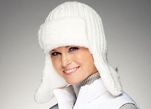 Примеры мастер-классов по вязанию спицами шапки-ушанки