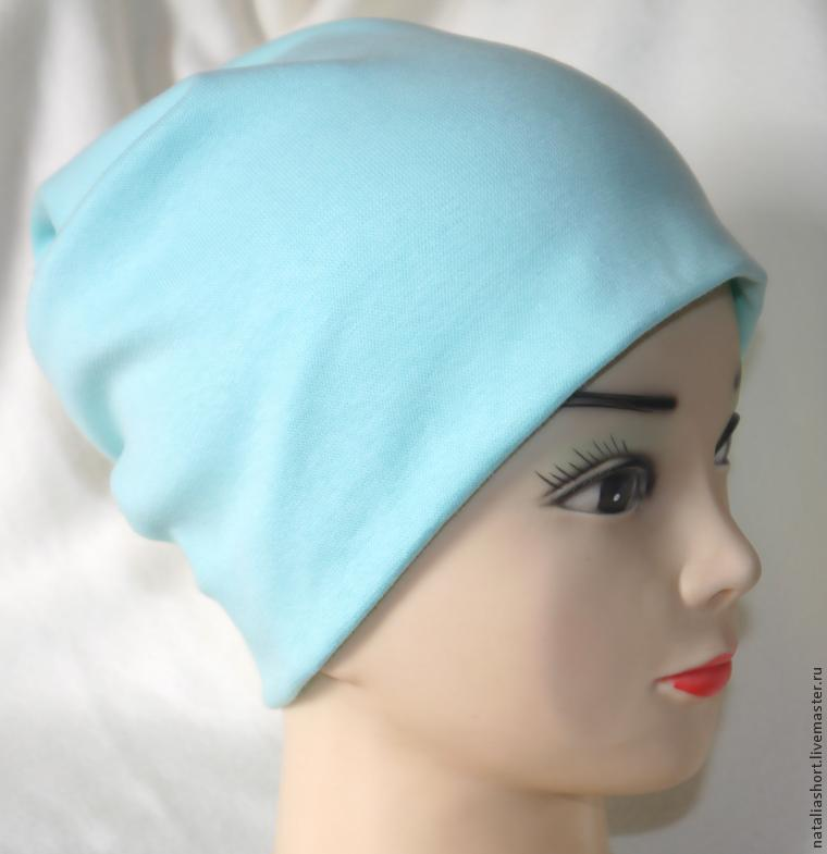 Пошив шапки из трикотажа своими руками 41