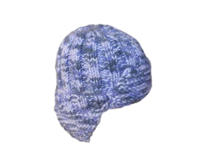 детская шапка ушанка