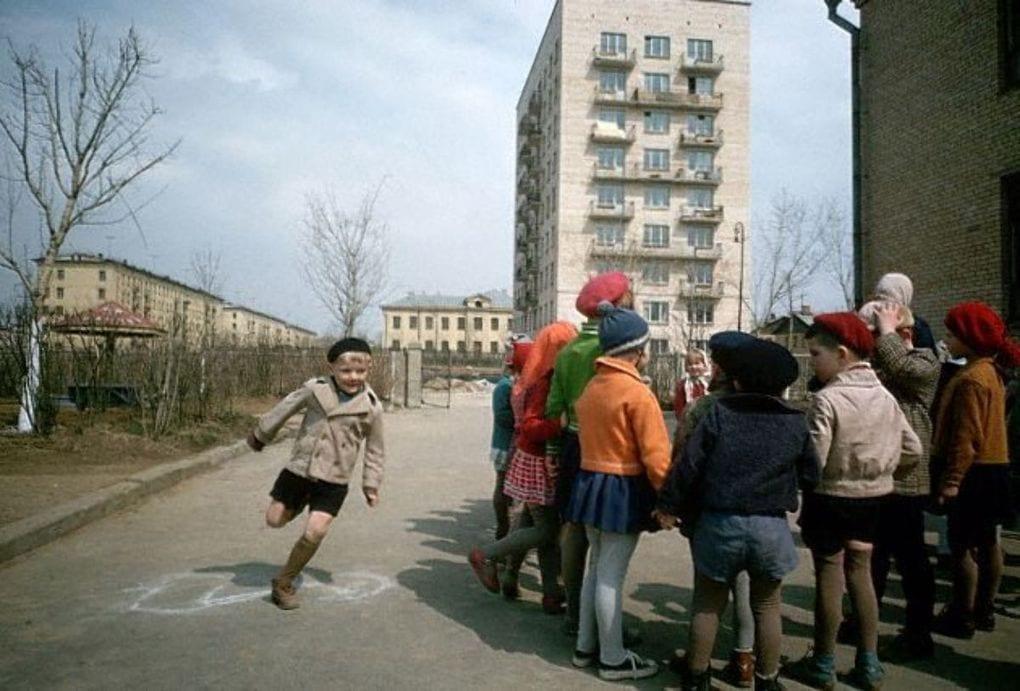 ссср дети на улице
