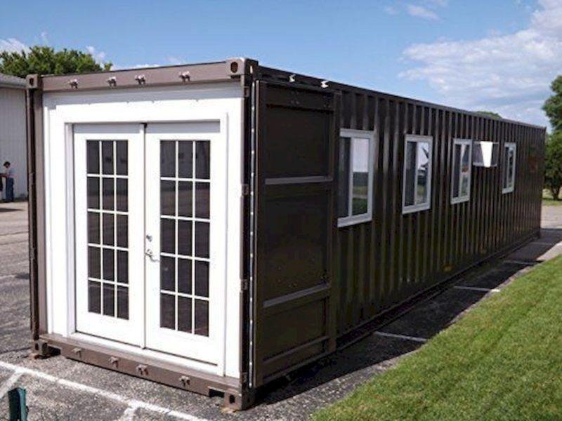крошечный дом транспортного контейнера