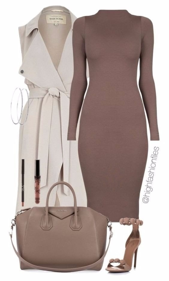 Как одеваться модно осенью 2018 года