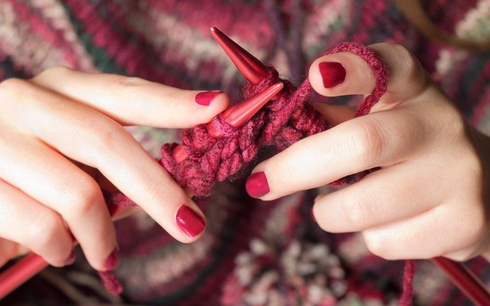 Я выбрала вязание спицами