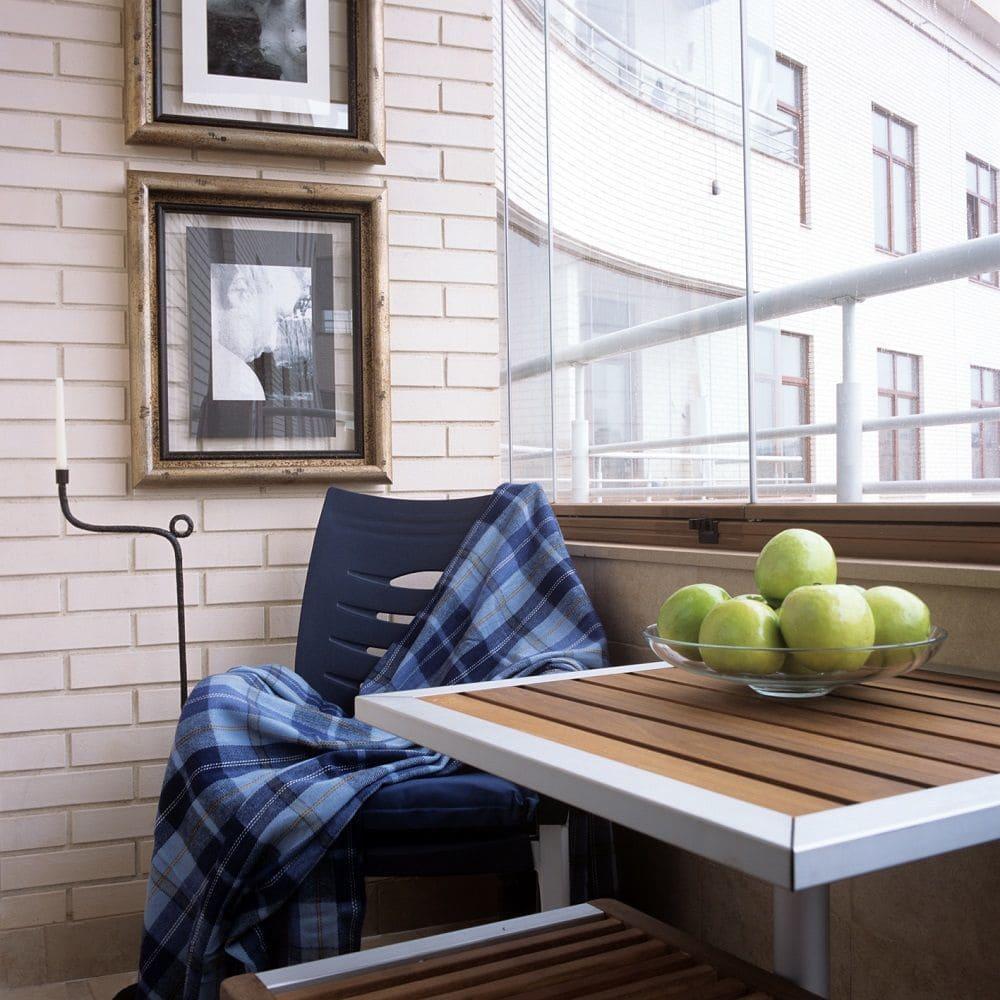 Необычные идеи оформления балкона в стиле лофт.