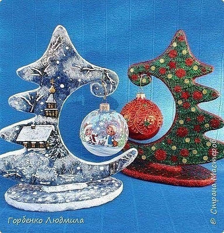 Оригинальная идея: новогоднее украшение за считанные минуты