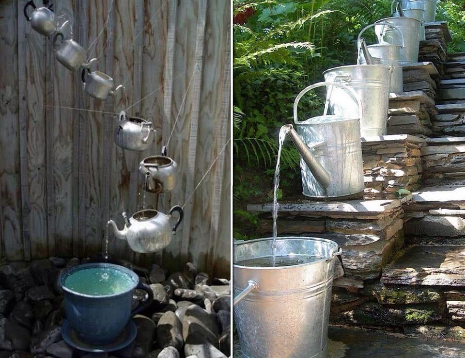 каскадное водное сооружение своими руками