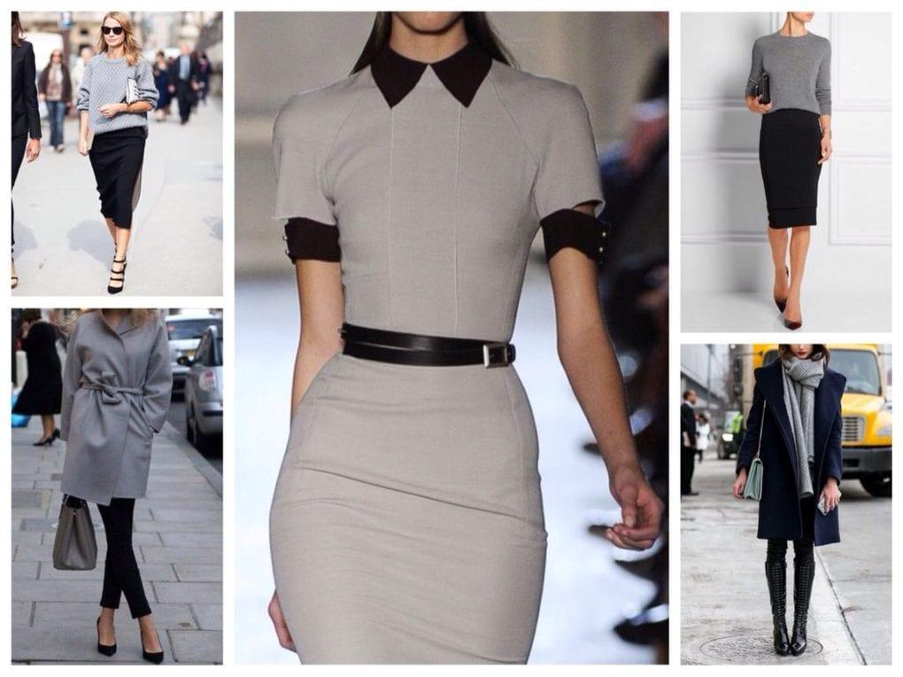 нейтральные цвета в женской одежде