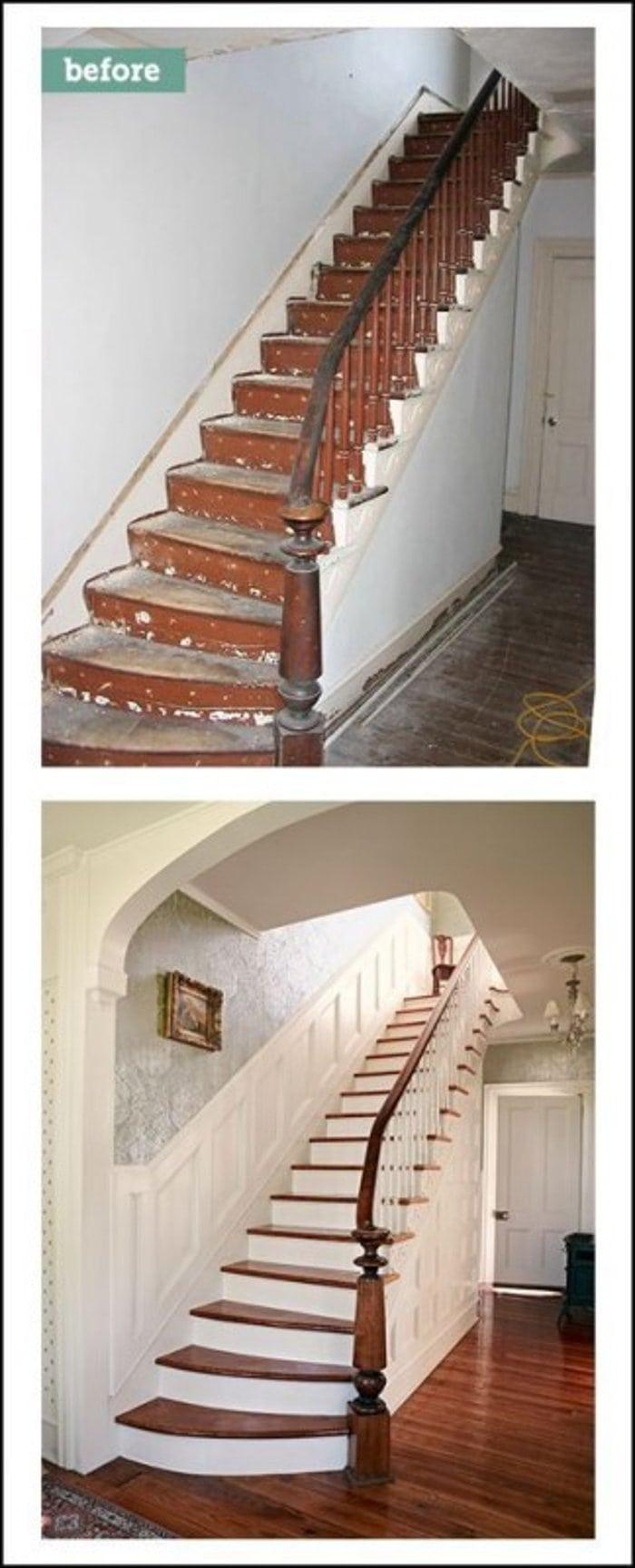 Лестница в стиле Ар Нуво