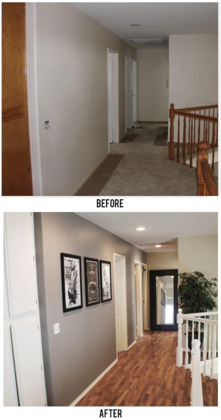 до и после ремонта в доме