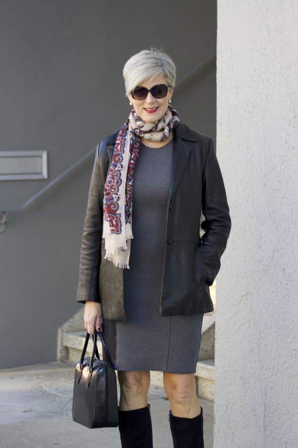 Как выглядеть элегантно старше 50 лет