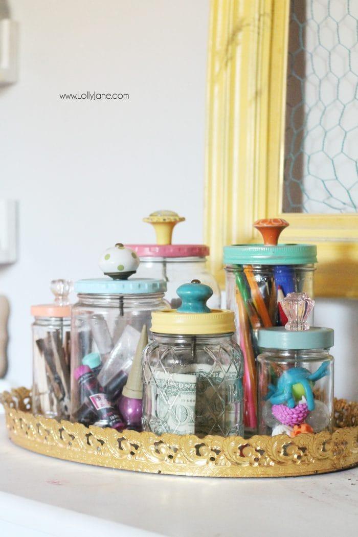 самодельные контейнеры из стеклянных банок