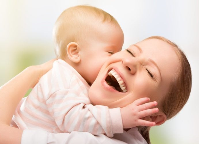 мама с малышом