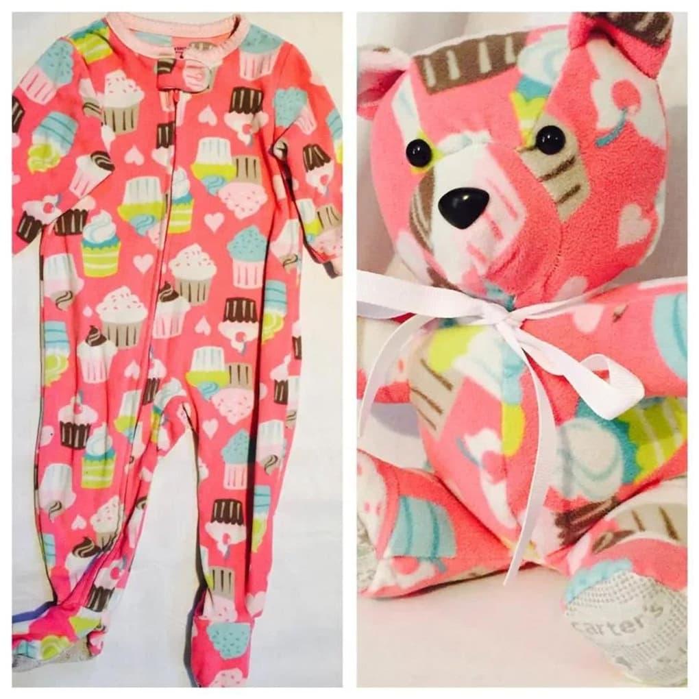 медведь из детской одежды