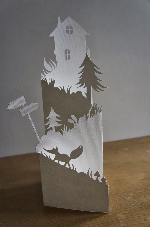 идея новогоднего украшения из бумаги