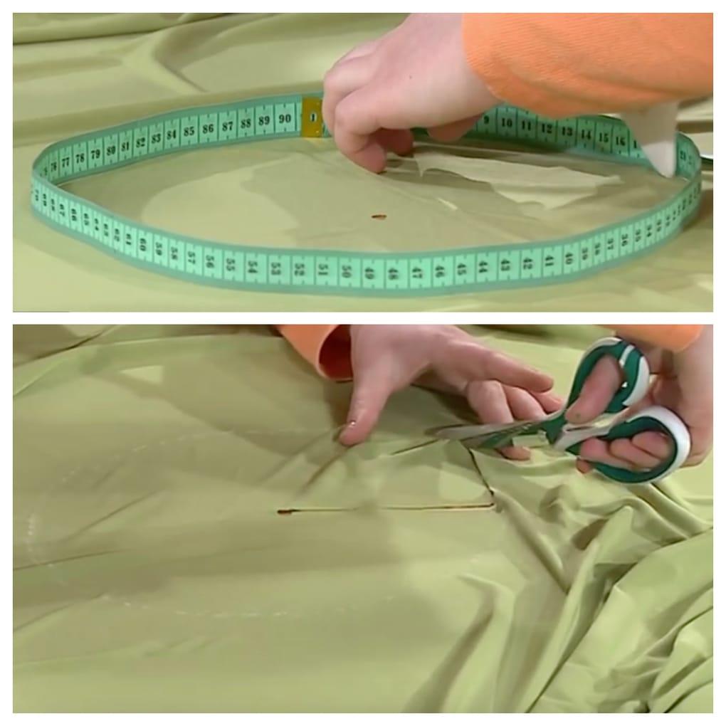 Как сшить платье одним швам
