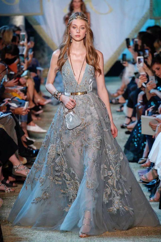 элегантное платье от кутюр