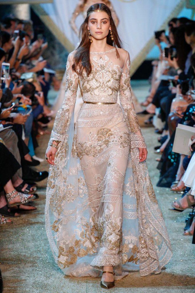 платье с недели моды в Париже