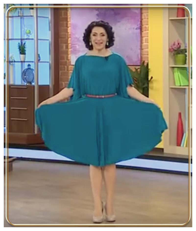 Простой и быстрый мастер-класс  праздничное платье одним швом 87c6d6a0ad637