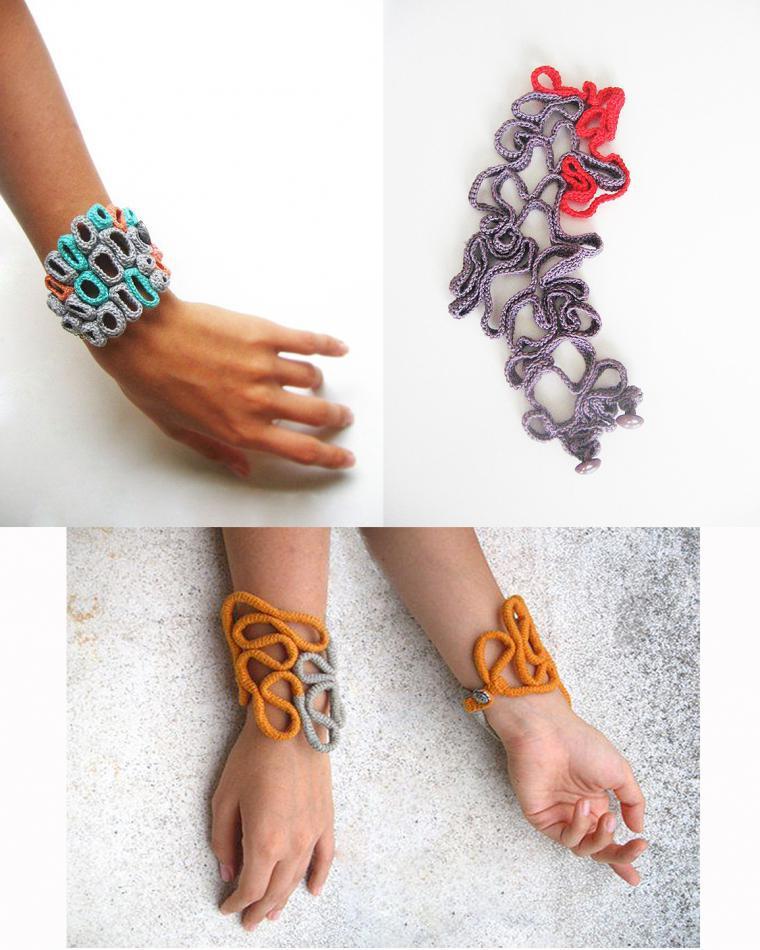 100 идей вязаной бижутерии, которая украсит любую девушку