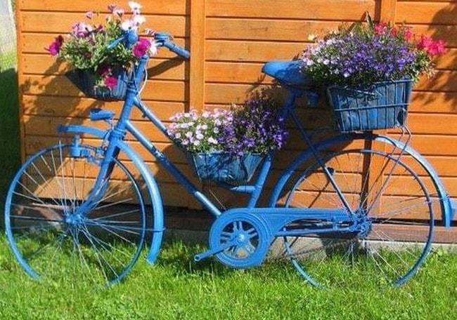 Велосипед декоративный как сделать 124