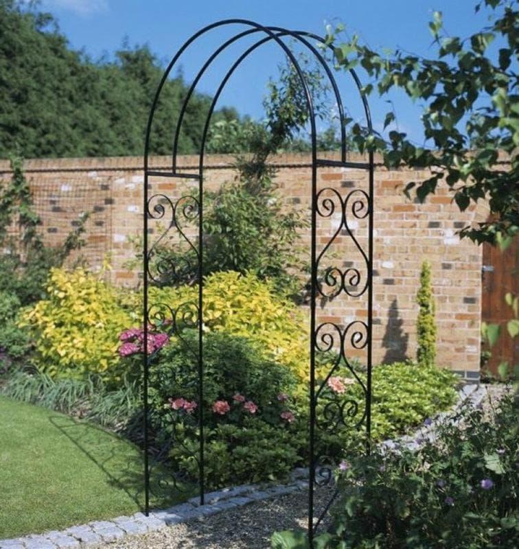 металлические садовые арки