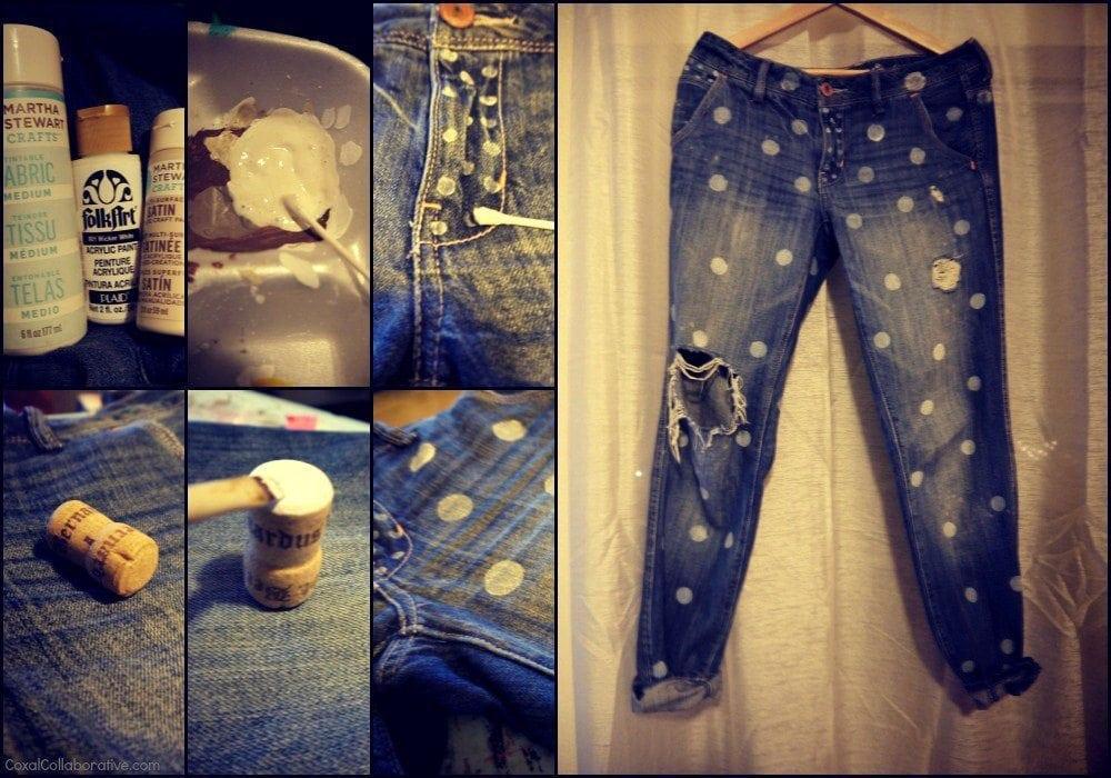 Идеи для джинс своими руками 91