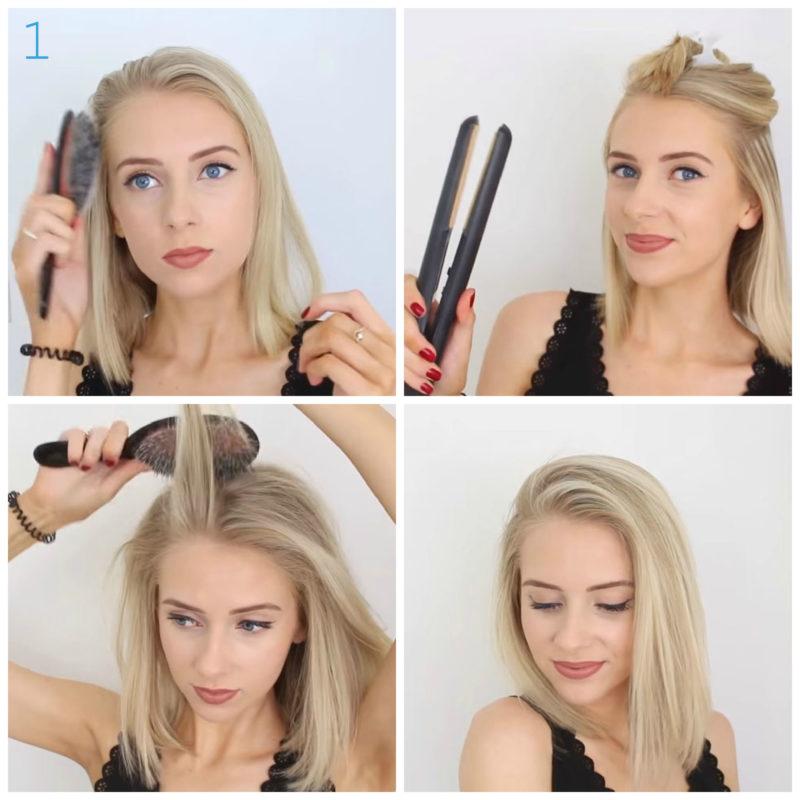 10 причесок на короткие волосы