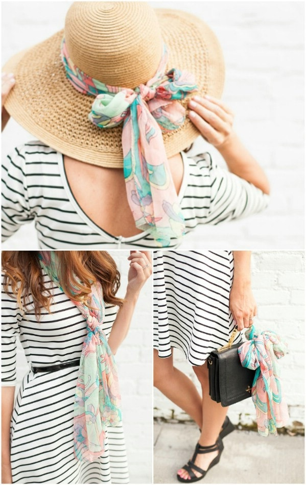 что сделать из старых платков и шарфов