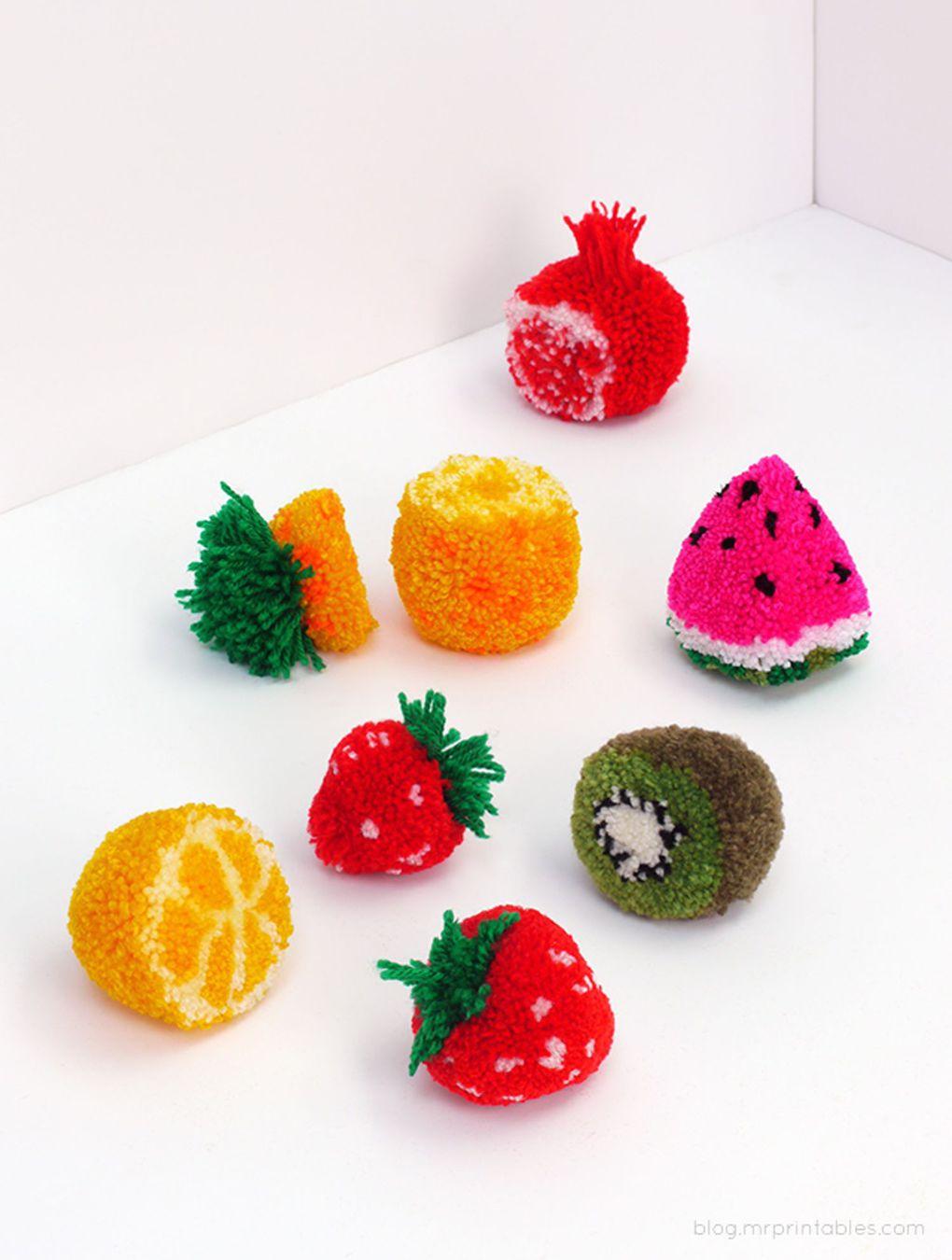 фруктовый помпон