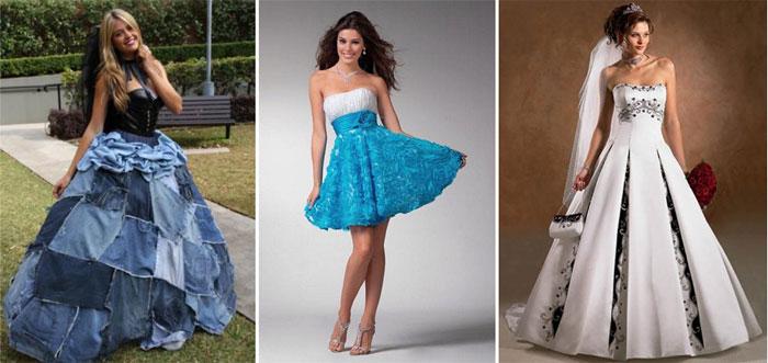 Невероятное джинсовое свадебное платье — модели для самых смелых невест
