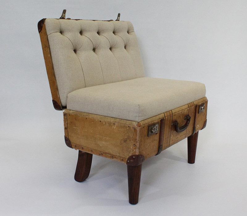 Кресло из чемодана фото