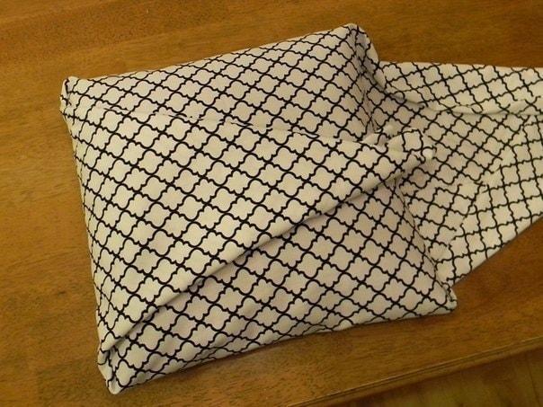 Классная бесшовная наволочка для подушек — идея для тех, кто не очень любит шить картинки