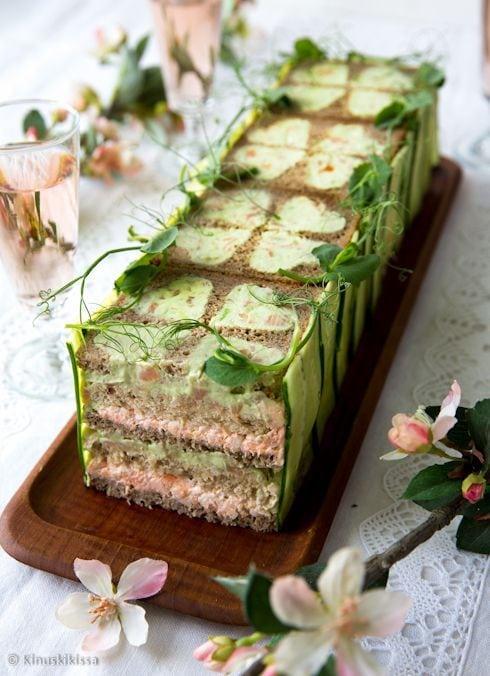 Торт-бутерброд по-шведски - рецепт пошаговый с фото