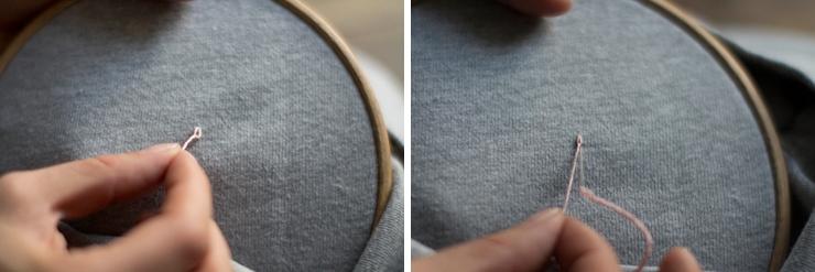 вышивка на толстовке своими руками
