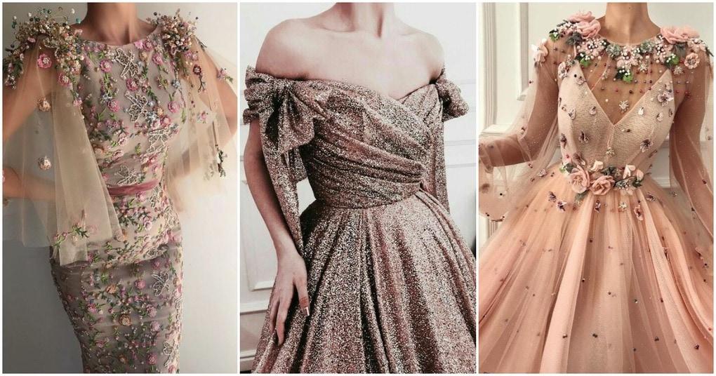 Пышные вечерние платья. Подборка интересных фасонов