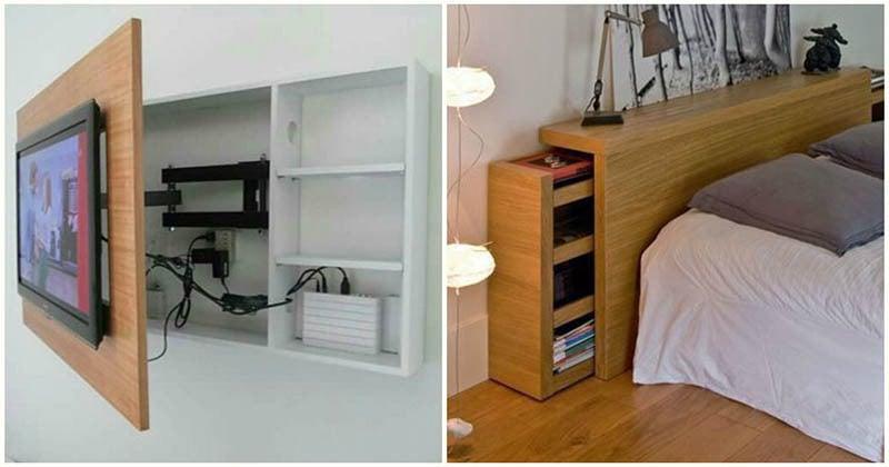 Блестящие идеи хранения вещей в доме, о которых вы не догадывались