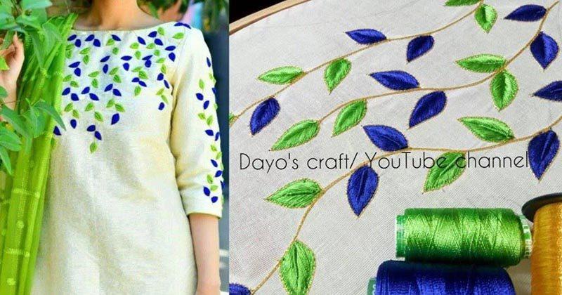 Как сделать вышивку в традиционном азиатском стиле | 420x800