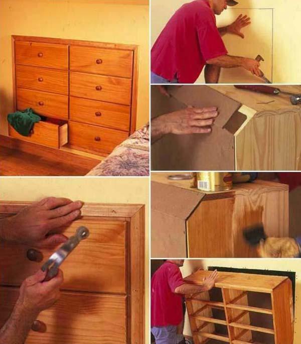 Безумно умное использование ограниченного пространства в доме
