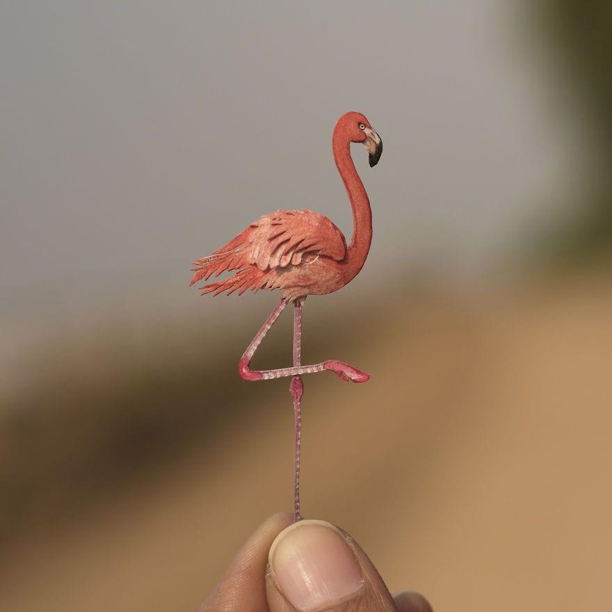 Крошечные бумажные птички, которые поражают воображение