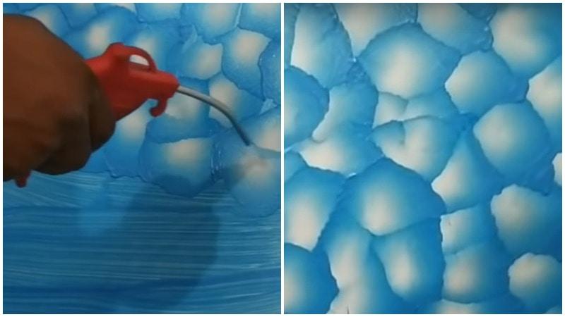 Нестандартный ремонт: креативный подход к покраске стен